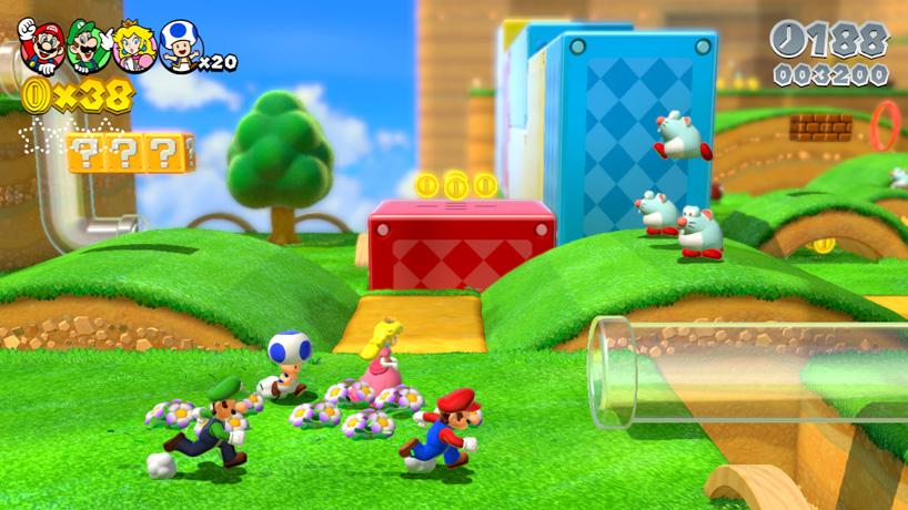 PREVIEW: Super Mario 3D World (Wii U) - Tech Digest