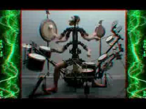 YouTube Video of the Day - The Monkey Drummer (Aphex Twin