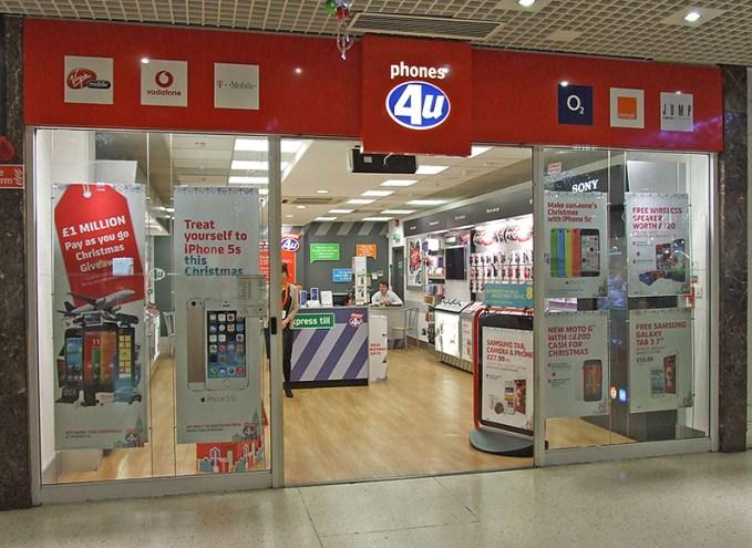 phones4U-shop
