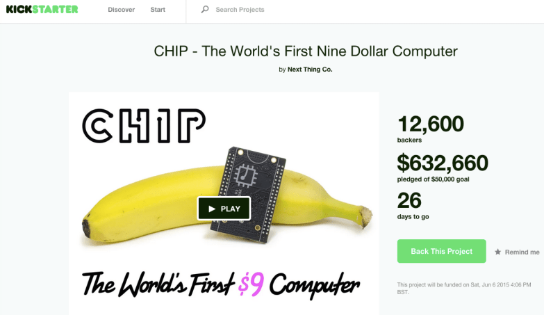 CHIP $9 computer