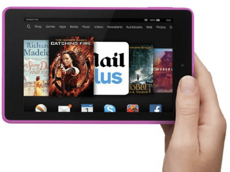 Amazon Fire HD6: Good quality screen, but a little small at just 6inches