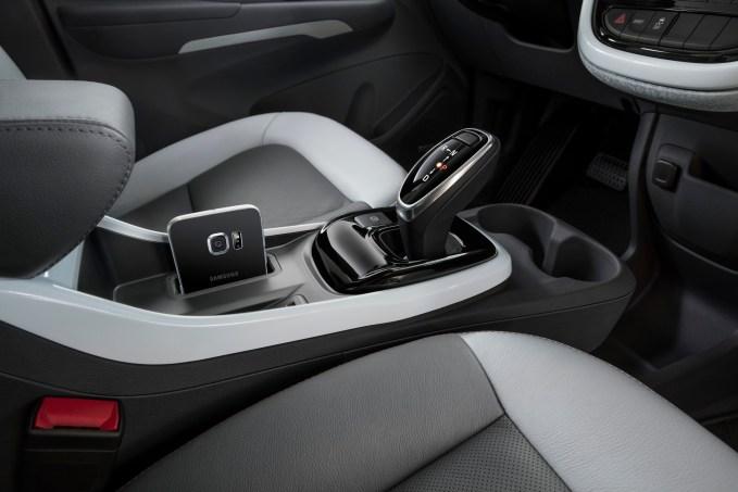 2017 Chevrolet Bolt EV - interior shot