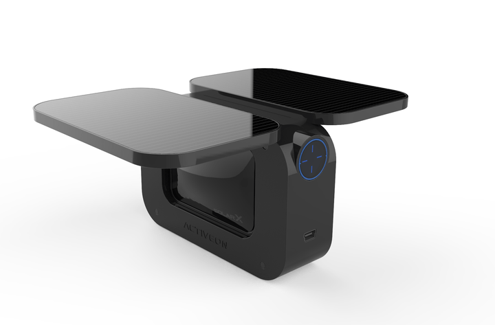 ACTIVEON's solar powered camera, the SOLAR X