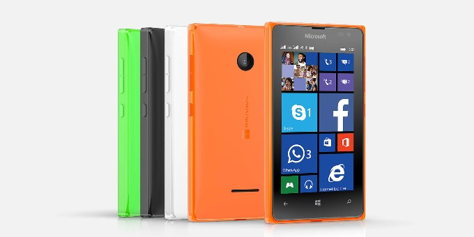 The nicely coloured Microsoft 750 could be launched at this year's MWC