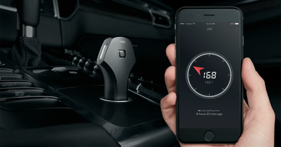 Nonda Zus: intelligent car charger that will help you find your parked vehicle