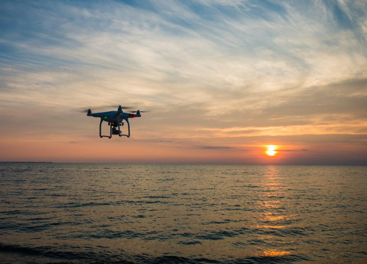 Droneintothesun