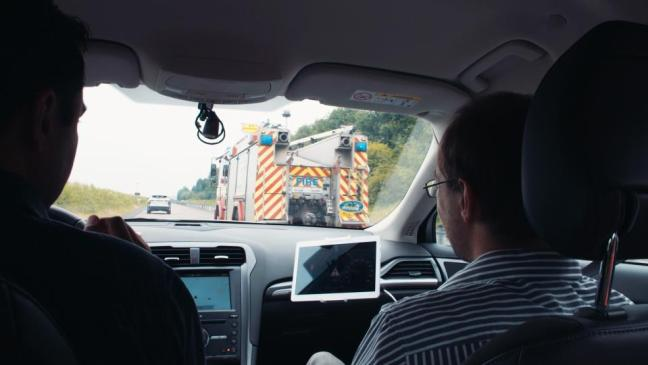 Ford Trials Emergency Vehicle Warning Technology at UK Autodrive.jpg