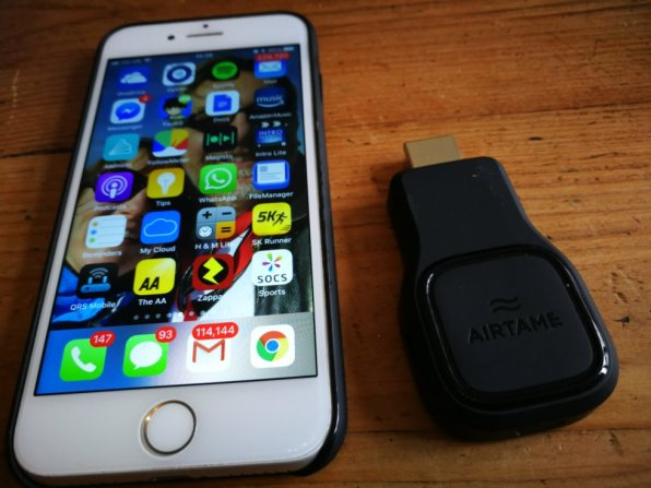 - Airtamesize - Review: Airtame wireless dongle £299