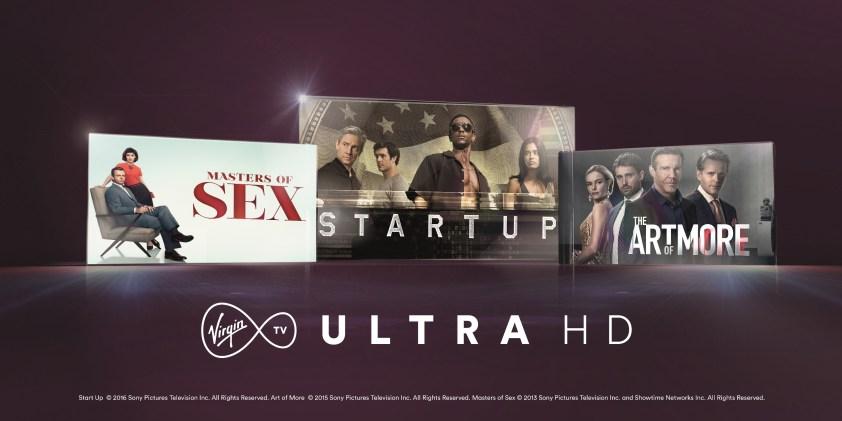 - Virgin TV Ultra HD 1 - Virgin Media launches dedicated UHD entertainment channel