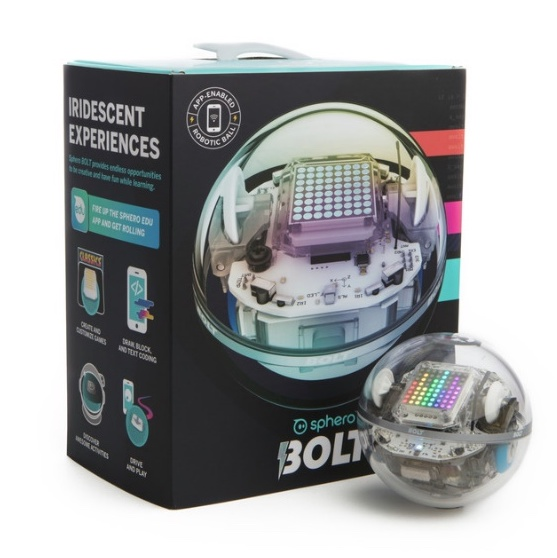 - sphero robotic ball - Sphero announces £149 BOLT – an app-enabled robotic ball