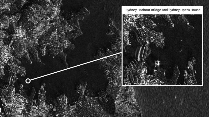 - SydneyBridge - First images from British NovaSAR satellite