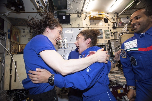 NASA brings all-female spacewalk forward after space station power failure