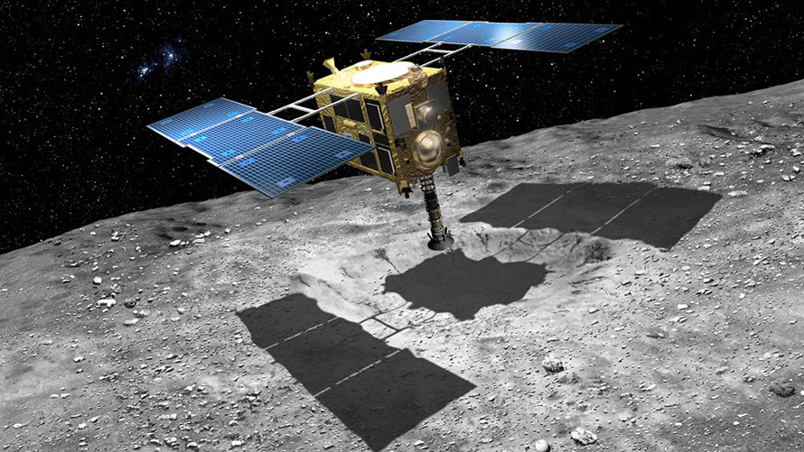 Japan spacecraft starts journey home from asteroid
