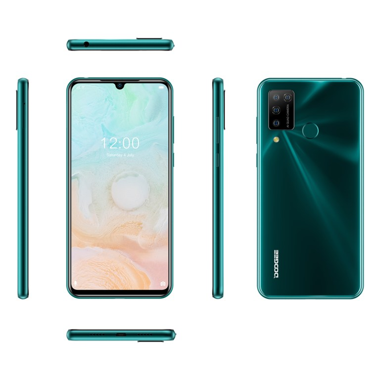 DOOGEE introduces  N20 Pro Android 10 with 16MP quad rear camera
