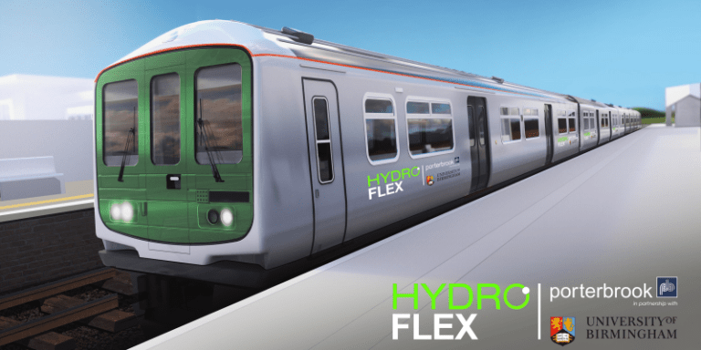Hydrogen-powered train runs on UK mainline