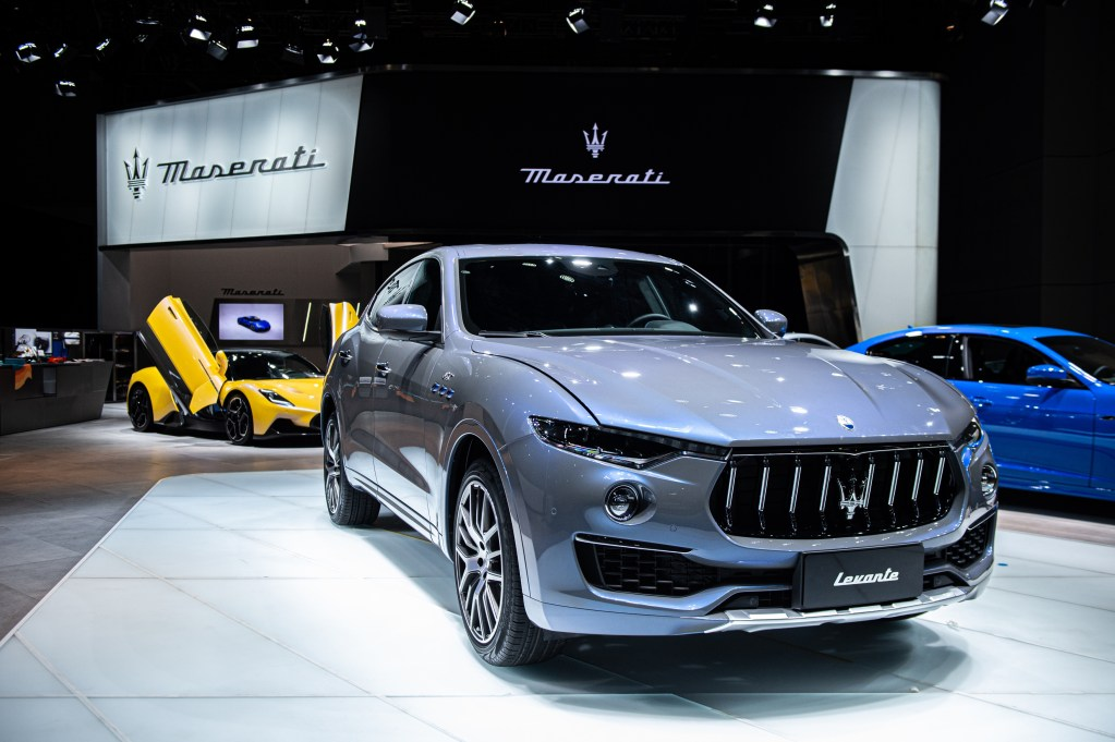 Shanghai Auto Show: Maserati to launch Levante Hybrid
