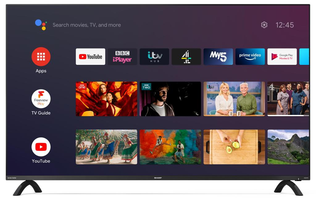 Sharp introduces Frameless TV line up from £529