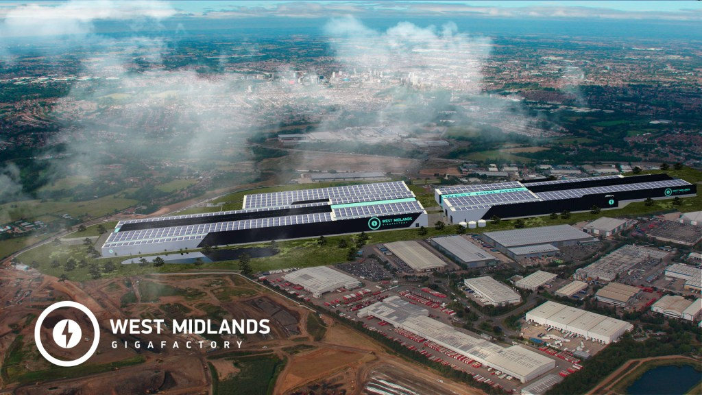 Further plans for £2.5bn West Midlands Gigafactory unveiled