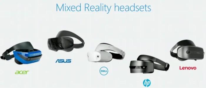 Mixed Reality Handset of windows 10