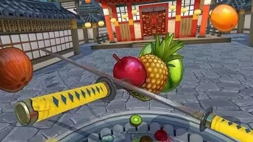 Fruit NInja Virtual Reality Game