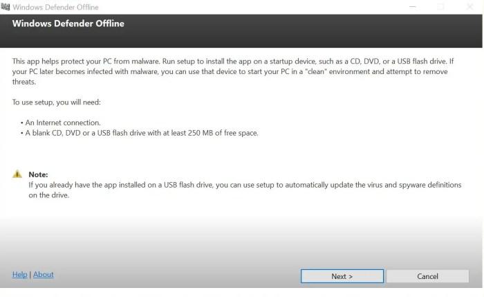 windows defender windows 8.1 offline update