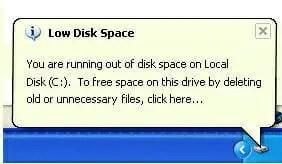 Windows XP LOw Disk