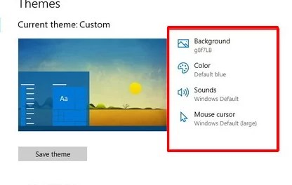 How to customize themes