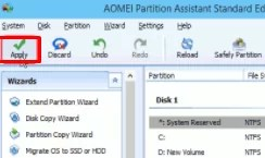 Merge Partitions