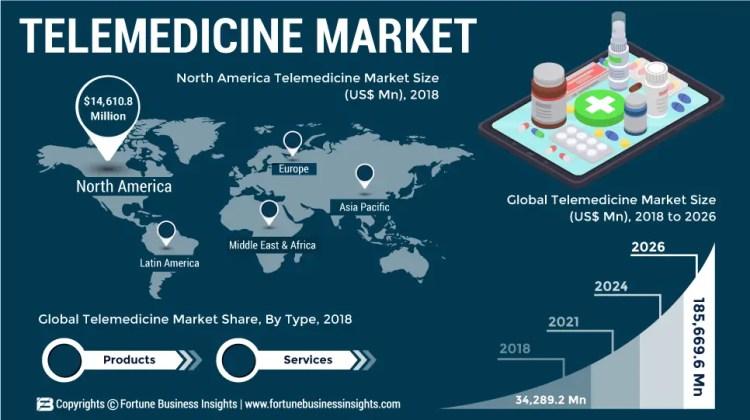 Telemedicinae Infographics