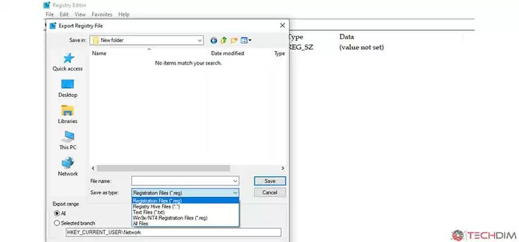 Editing Registry in Windows 2
