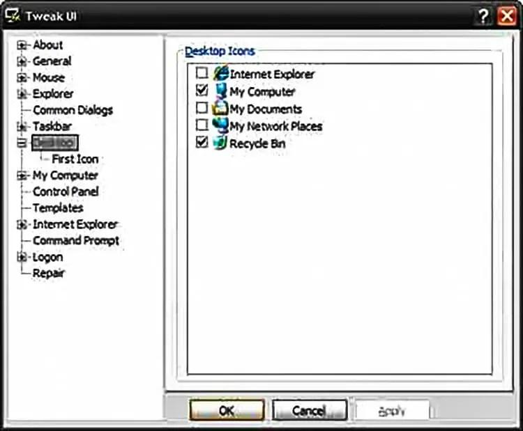 In Microsoft Windows XP