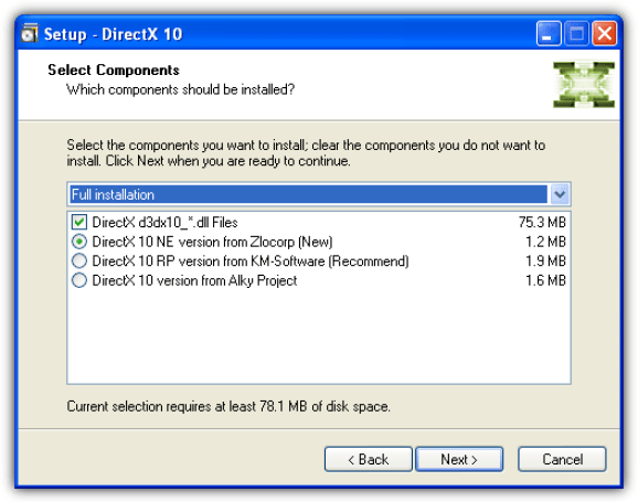 directx latest version download for windows 7