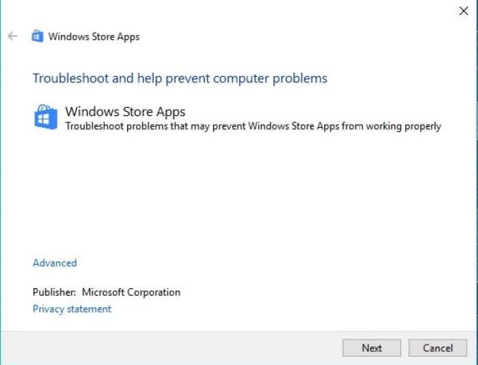 Microsoft Store Errors3