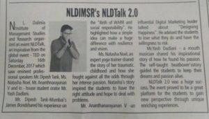 Ananth V Speaker NLD Business Standard Digital marketing entrepreneur