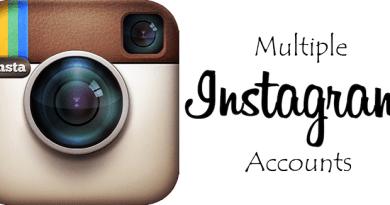 add multiple accounts in Instagram