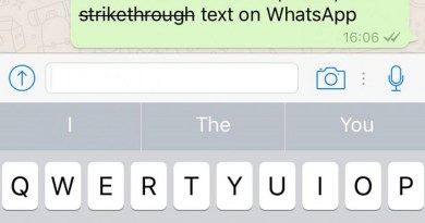 How to add Bold, Italics and Strikethrough Text formatting to WhatsApp messages?