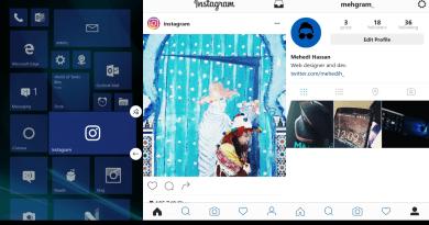 Instagram on Windows Smartphones now has the latest UI