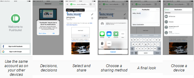 how to copy and paste content across devices