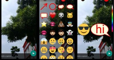 Stickers, Bigger Emojis and Doodles in WhatsApp