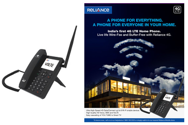 Reliance 4G VoLTE-enabled home phone