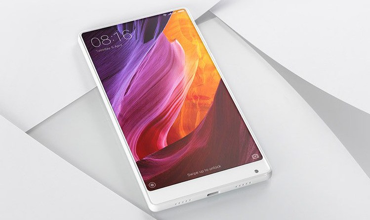 White version of Xiaomi Mi MIX