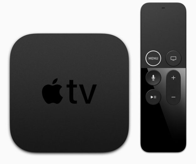 Apple TV 4K with the latest Siri Remote