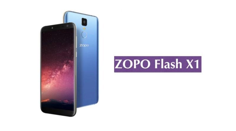 zopo flash x1 smartphone
