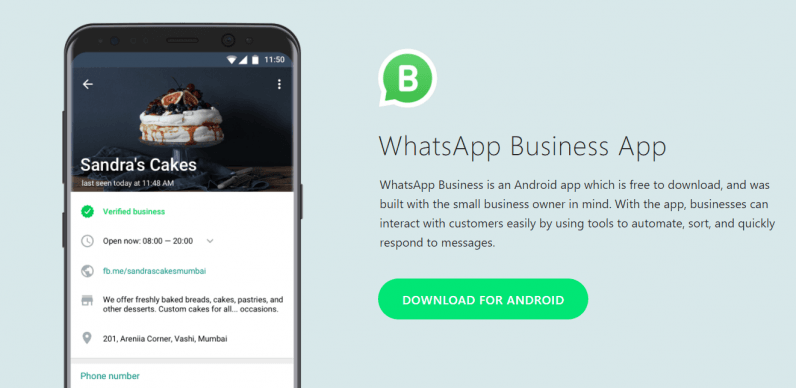WhtasApp Business App
