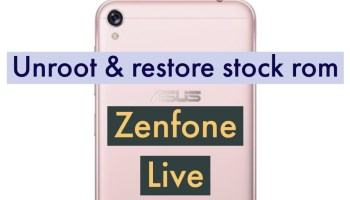 How to Unlock Bootloader on ASUS Zenfone LIVE (L1) ZA550KL