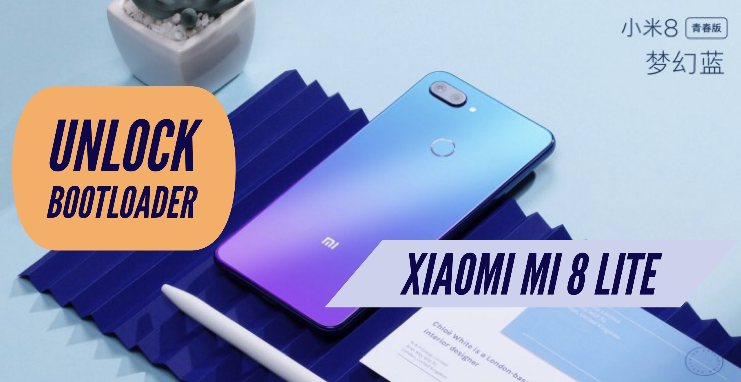 How to Unlock Bootloader on Xiaomi Mi 8 Lite? Mi Flash Unlock TOOL!