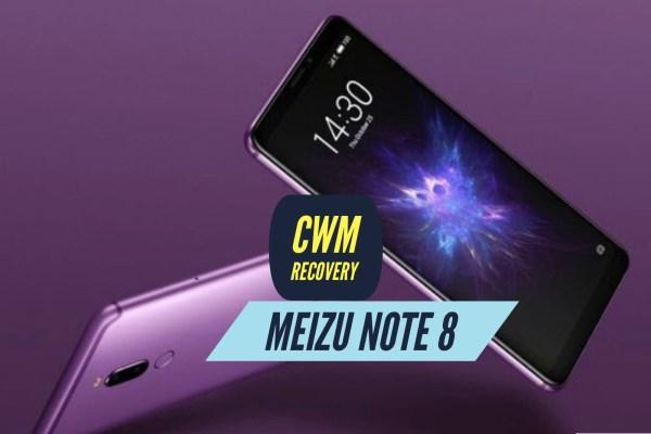 CWM Meizu Note 8