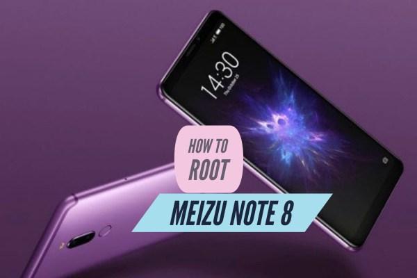 Root Meizu Note 8