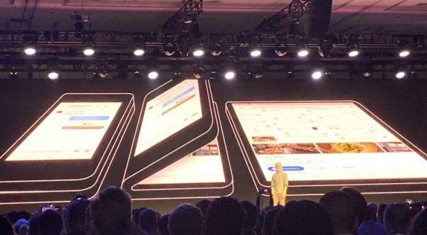 Samsung Foldable Smartphone Cost