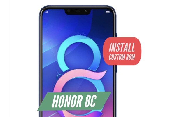 Honor 8C Custom ROM